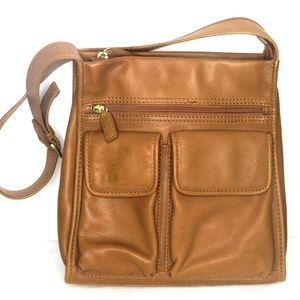 Fossil Genuine Leather 1954 Classic Shoulder Bag